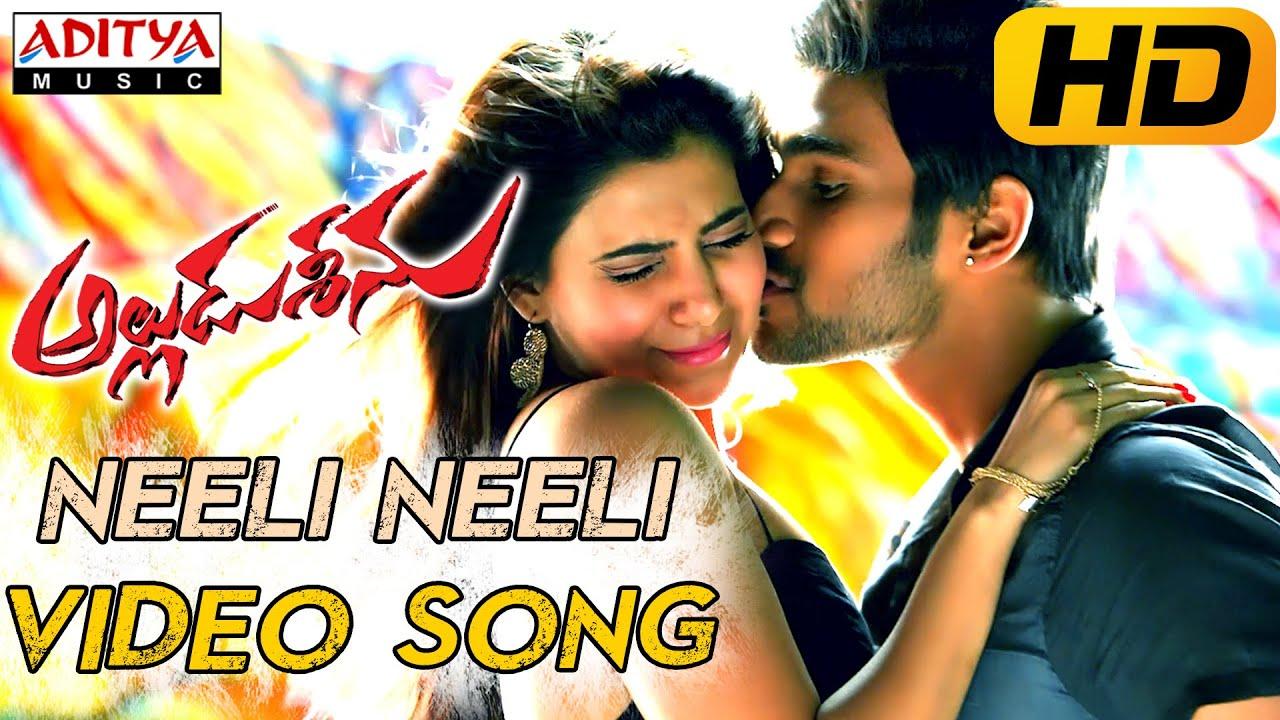 Neeli Neeli Full Video Song || Alludu Seenu Video Songs || Sai Srinivas, Samantha