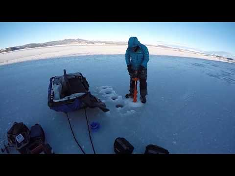 Ice Fishing- Big Trout (Sketchy Early Ice) Antero Res.