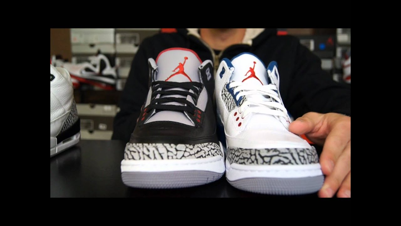 ef73139157b31a Air Jordan III (3) Retro Black  Cement 2011 Review - YouTube
