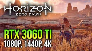 RTX 3060 Ti on Horizon Zero Dawn | 1080p, 1440p, 4K