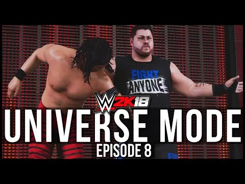 WWE 2K18 | Universe Mode - 'OWENS SENDS A MESSAGE!' | #08
