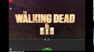 Roblox The Walking Dead trailer