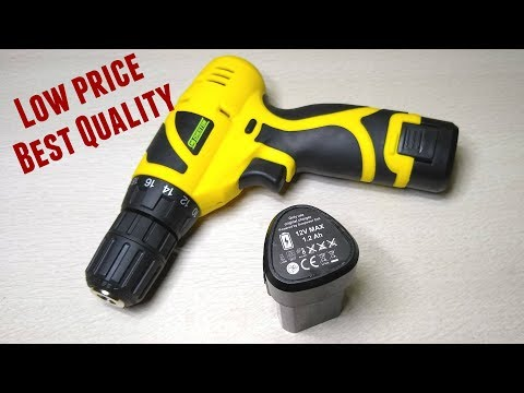 Value For money Cordless Drill Screw Driver