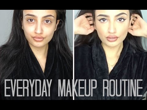 MY FIRST VIDEO: EVERYDAY MAKEUP ROUTINE!