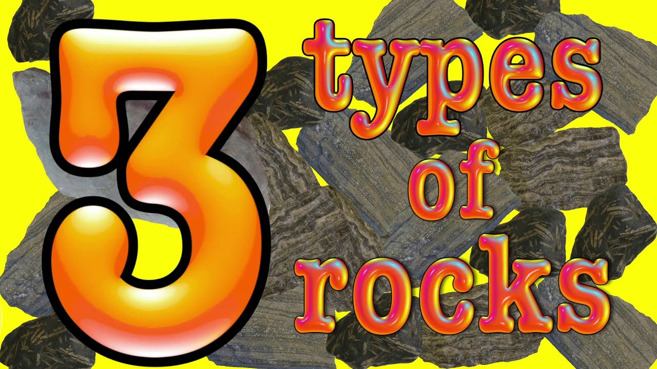 3 Types Of Rock A Science Song