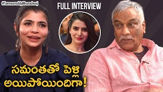 Samantha and Singer Chinmayi are Married? | Tammareddy Bharadwaj Interview With Singer Chinmayi