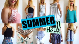 Big SUMMER Haul & Try On!