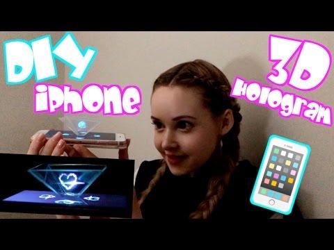 DIY iPhone 3D Hologram
