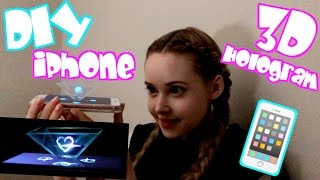 DIY iPhone 3D Hologram