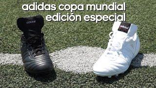 temblor Necesario Buena suerte  Review adidas Copa Mundial black&white - YouTube