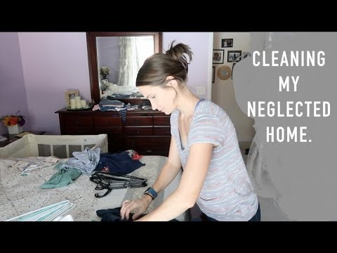 Mega Clean - Overwhelming Mess!  Doing What I Can!