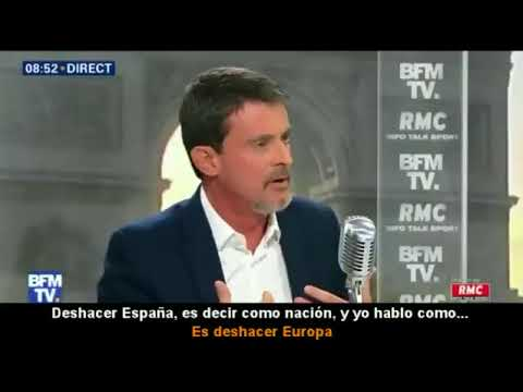 Manuel Valls sobre la independencia de Cataluña