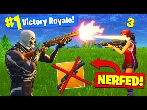 Did Epic *RUIN* SHOTGUNS? - Fortnite Battle Royale