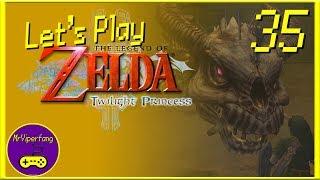 The Legend of Zelda: Twilight Princess HD [Part 35] - Skeletal Rail Riding