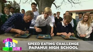 Speed Eating Challenge - Papanui High