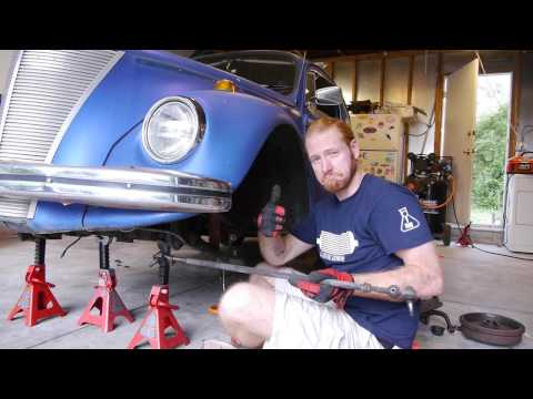 Project Bugford - Drop Spindles and Ball Joints