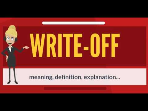 What is WRITE-OFF? What does WRITE-OFF mean? WRITE-OFF meaning, definition & explanation