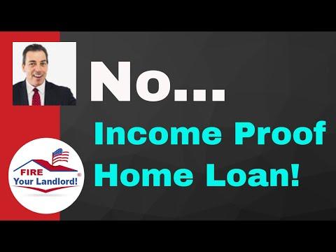 (Stated Income) No Proof of Income   No Debt Ratio   No Doc Loan -2019
