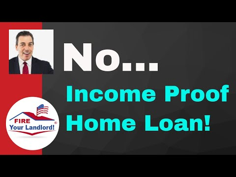 (Stated Income) No Proof of Income | No Debt Ratio | No Doc Loan -2019