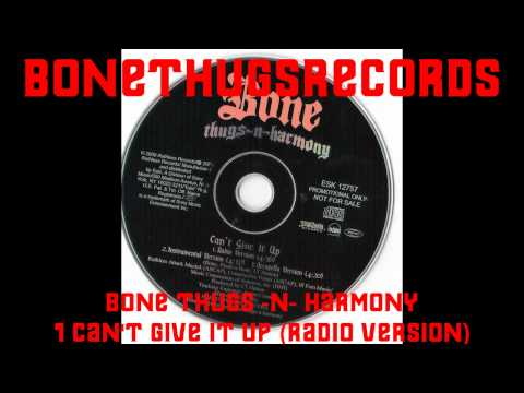 1 Bone Thugs -N- Harmony - Can't Give It Up (Radio Version)(Promo Single) mp3
