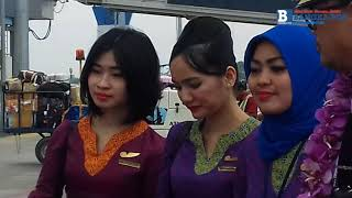 TRIBUNNEWS.COM, PANGKALPINANG-- Kapten pilot sejumlah airline menda...