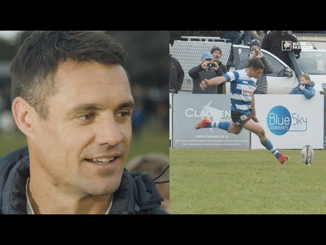Dan Carter assesses his performance after making his NZ rugby comeback for Southbridge RFC - RugbyPass Official