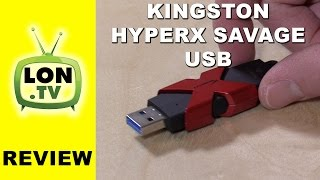 Kingston HyperX Savage USB Flash Drive Review