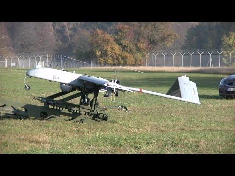 RQ-7 Shadow UAV Catapult Launch