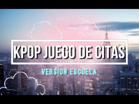Kpop Juego De Citas Version Idol Youtube