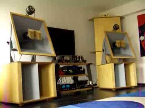 western electric sato horn with renkus heinz ssd 1800. Black Bedroom Furniture Sets. Home Design Ideas