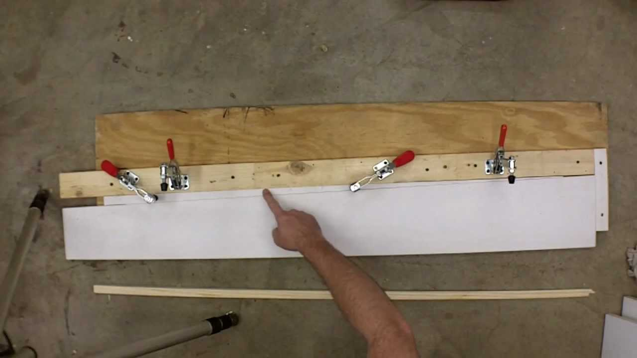 How To Cut Double Tapers On A Table Saw Youtube