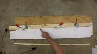 How To Cut Double Tapers On A Table Saw