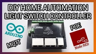 DIY Home Automation Light Controller Shield | MQTT, Node Red,Raspberry Pi,UTP/Patch/RJ45/CAT5e cable