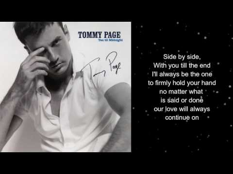 Tommy Page - A Shoulder To Cry On 2000