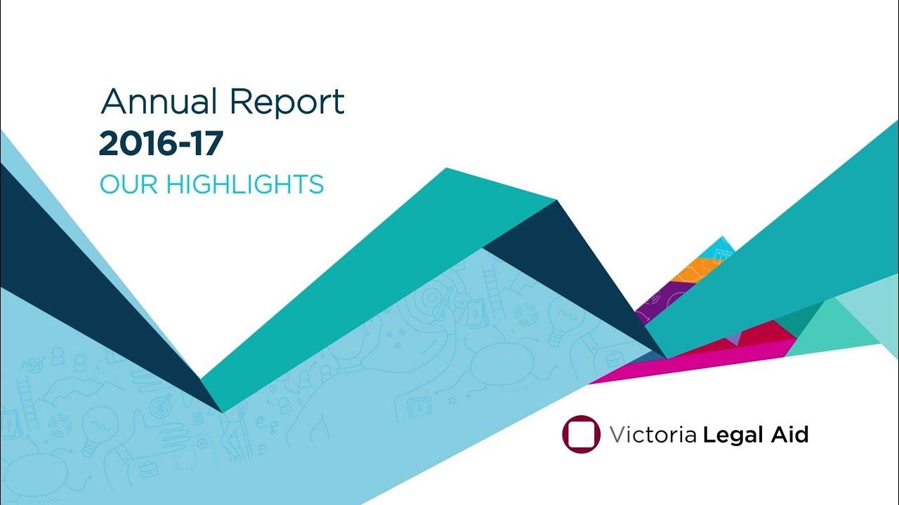 Victoria Legal Aid Annual Report 2016–17 - YouTube
