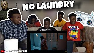 No Laundry After 10 p.m😱. - Short Horror Film | REACTION!!