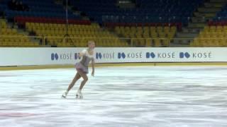 2015 ISU Jr. Grand Prix - Torun Ladies Free Skate Diana NIKITINA LAT ニキティナ 検索動画 4