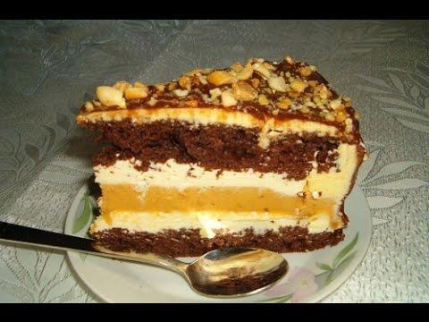 Пирожное без выпечки в домашних условиях рецепты