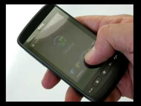 HTC Touch2 first video