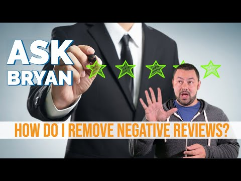 How To Remove Negative Reviews