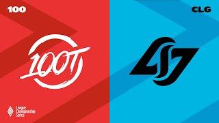 100 vs CLG | Week 8 | LCS Summer Split | 100 Thieves vs Counter Logic Gaming (2021)