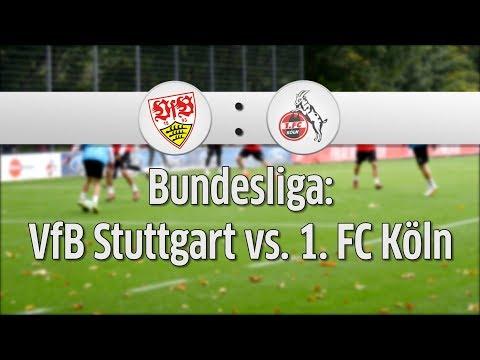 1. FC Köln vs. VfB Stuttgart: 8. Spieltag der Fußball-Bundesliga