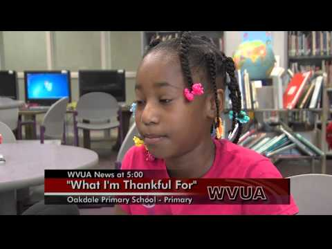 Oakdale Primary School: What I'm Thankful For 3