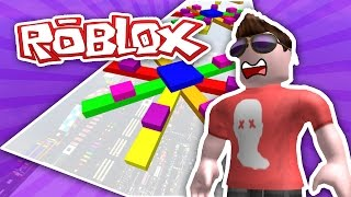 MEGA FUN OBBY #10 - FIRST TO LEVEL 500 | ROBLOX w/Imaflynmidget
