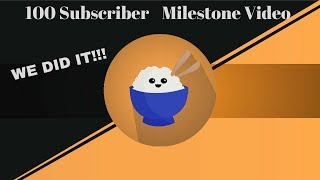 WE'VE REACHED 100 SUBSCRIBERS!!!