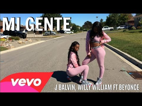 J Balvin, Willy William - Mi Gente featuring Beyoncé Dance Choreography Twin Version