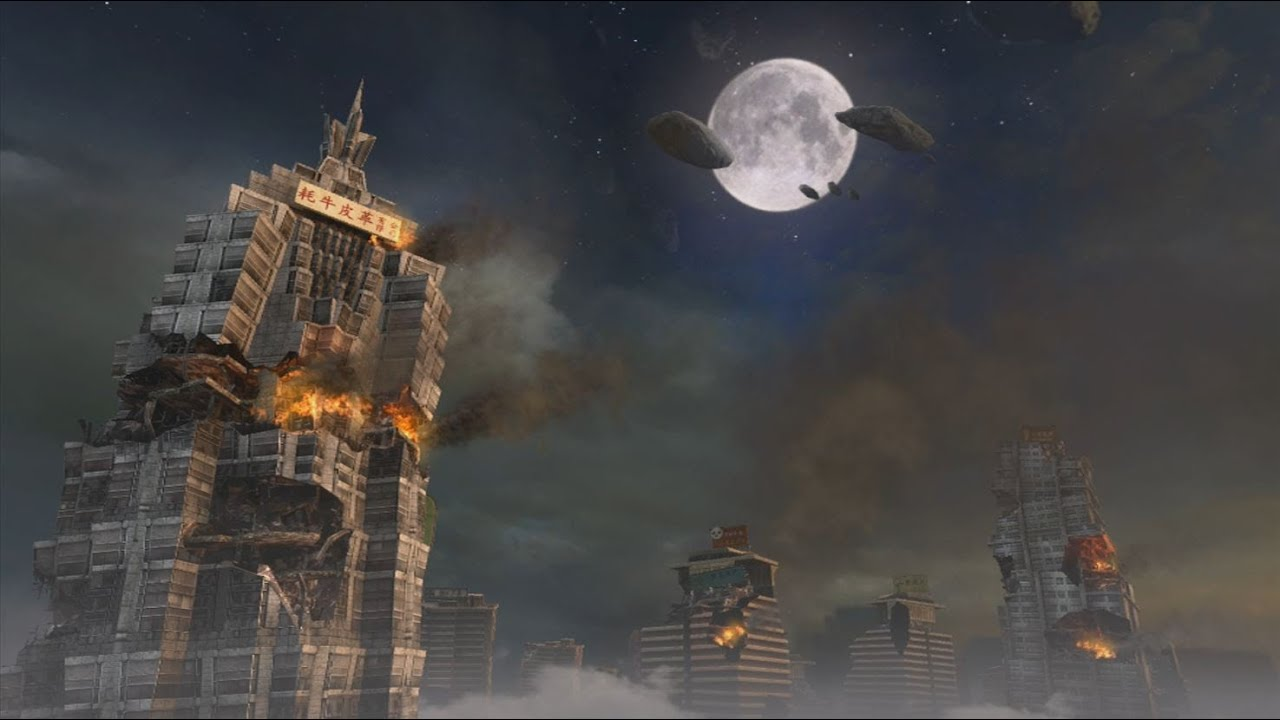 Die Rise 8 Player Gameplay  Black Ops 2 Zombies