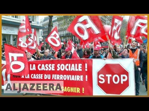 🇫🇷 Paris: Chaos for commuters as rail strike disrupts service | Al Jazeera English
