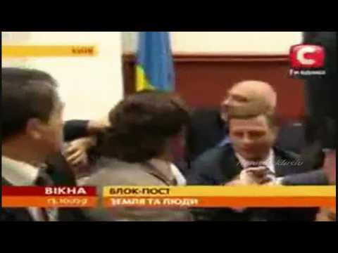Vitali Klitschko fights corruption in Ukrainian parliament!