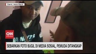 Sebarkan Foto Bugil di Media Sosial, Pemuda Ditangkap